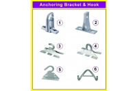 Anchoring Bracket & Hook