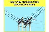 12kV / Aluminium Cable Tension Line System