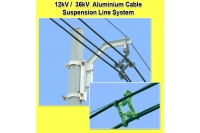 12kV / 36kV Aluminium Cable Suspension Line System